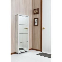 Шкаф Плюс, фасад зеркало, 4-х секционные
