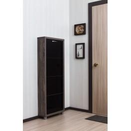 Шкаф Люкс,  стекло черное, 4-х секционные