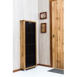 Шкаф Плюс, стекло черное, 4-х секционные