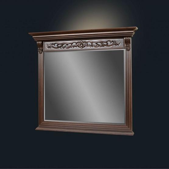 "Зеркало ""Благо 5"" Б 5.19-2 Орех (к комоду Б 5.19-1)"