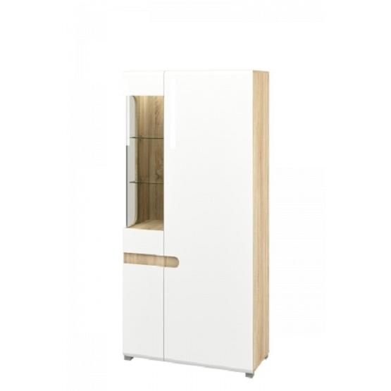 Леонардо белый, Шкаф  МН-026-19