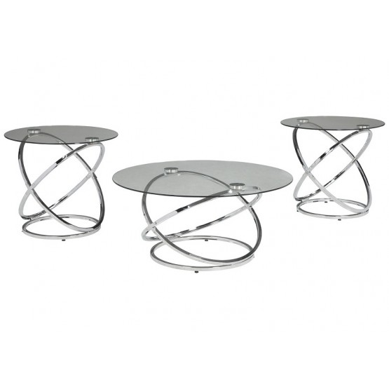 Hollynyx, Набор: стол журнальный + два стола приставных