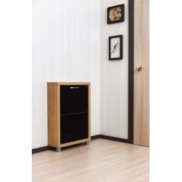 Шкаф Люкс, стекло черное, 2-х секционные